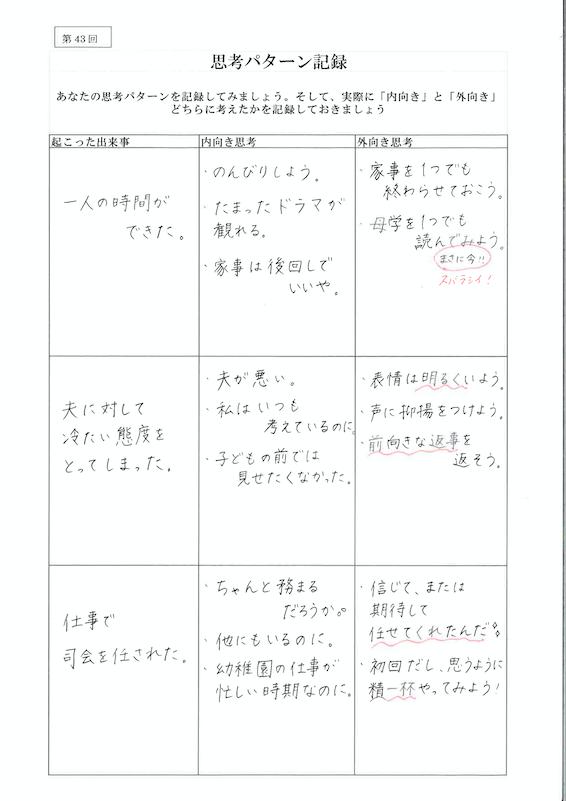 思考パターン記録04