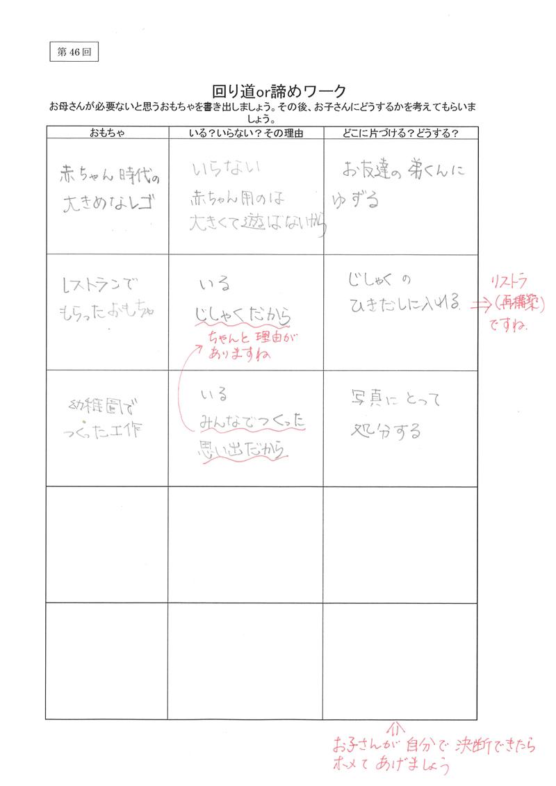 回り道or諦めワーク02